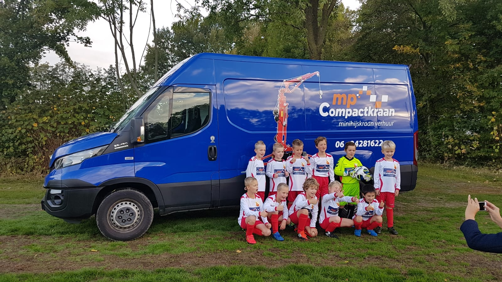 Nieuwe teamfoto JO8 2018-2019